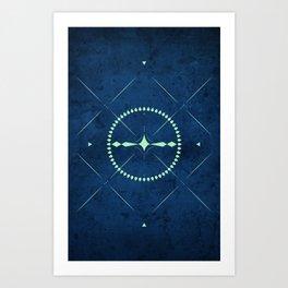 Dark Mystery Art Print
