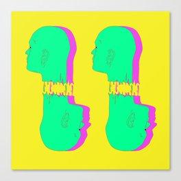 4 Heads Canvas Print