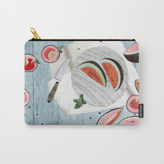 The Watermelon Season Carry-All Pouch