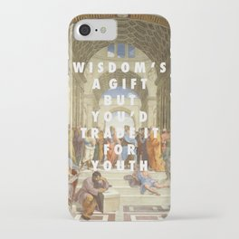 The Step of Athens iPhone Case