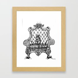 All Hail King Rat! Framed Art Print