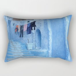 Laundry Day in Morocco Rectangular Pillow