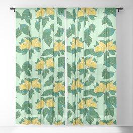 Sourpuss Pattern Sheer Curtain