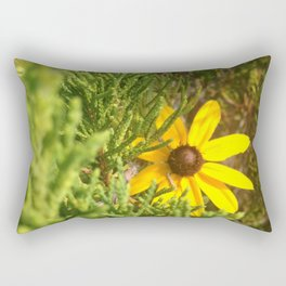 Hidden Beauty Rectangular Pillow