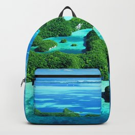 Palau Island Paradise Backpack