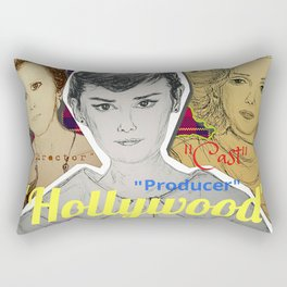 (Celebrity - Hollywood) - yks by ofs珊 Rectangular Pillow