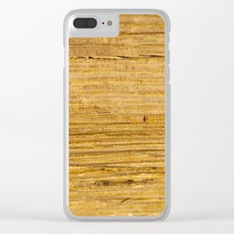 Old wooden boards Clear iPhone Case