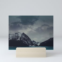 Lake Louise Winter Landscape Mini Art Print