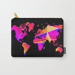 Reflections world map Carry-All Pouch