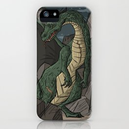 Rocklands Dragon iPhone Case