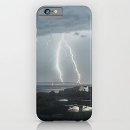 Luminous Discharge iPhone Case