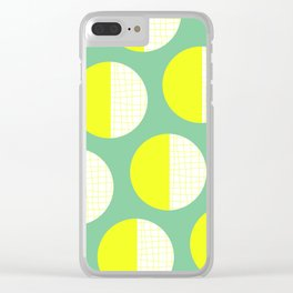 Abstract Dots 03 Clear iPhone Case