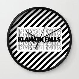 Klamath Falls USA CITY Funny Gifts Wall Clock