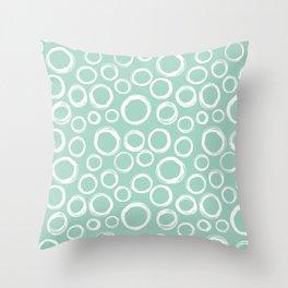 bubble print Throw Pillow
