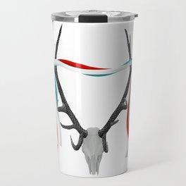 Stag Antlers Travel Mug