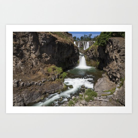 White River Falls Art Print