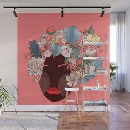 flower girl Wall Mural