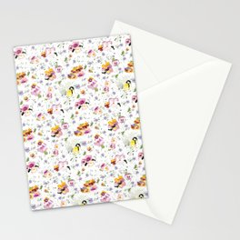 Colorful Pansies Stationery Cards