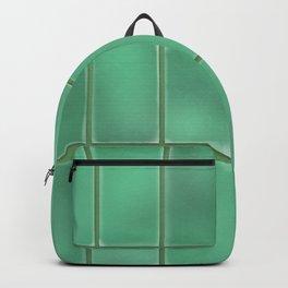 Cyan Tiles Backpack
