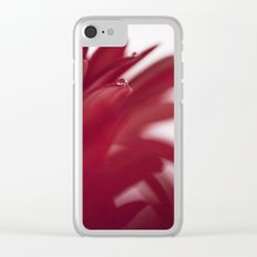 Love Drops Clear iPhone Case