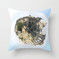 rome Throw Pillows featuring ROME by fscVisuals