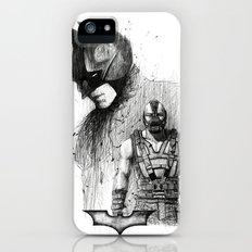 Bat In Black (The Dark Knight Rises) iPhone (5, 5s) Slim Case