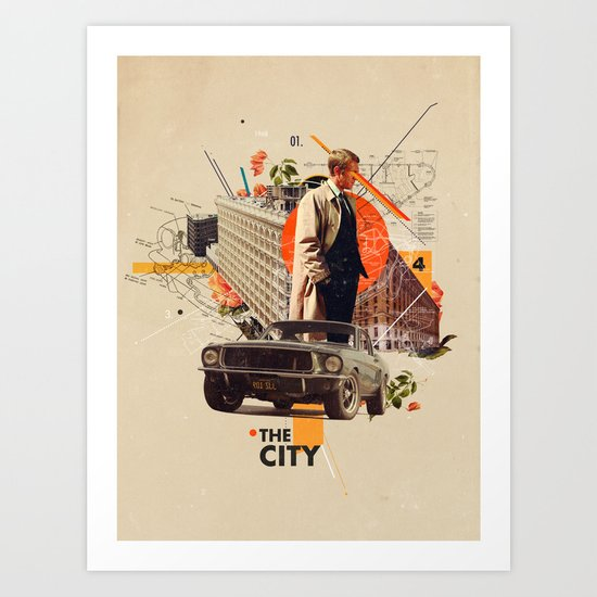 The City 1968 by frankmoth