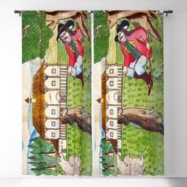 BETHLEHEM PROSPECTUS 4 (Painted Shed) Blackout Curtain