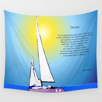 destiny Wall Tapestries featuring Destiny by Artisimo (Keith Bond)