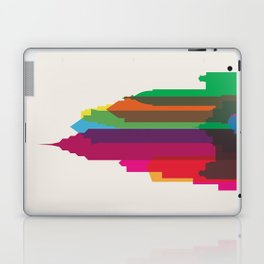 Shapes of Philadelphia accurate to scale Laptop & iPad Skin