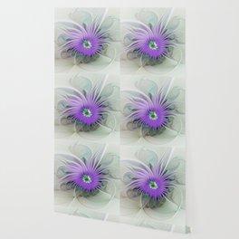 Flourish, abstract Fantasy Flower Wallpaper