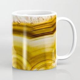 Amber Honey Agate Earth Coffee Mug
