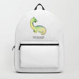 Brackston the Brachiosaurus Backpack