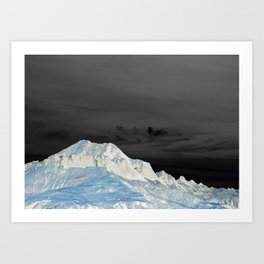 I am floating at night II Art Print