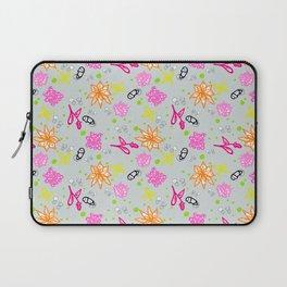 Pri Inspired Flowery Repeat Pattern Laptop Sleeve