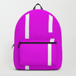 Abstract Retro Stripes Pinky Backpack