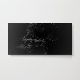 Pyram IFS (Black-White) Metal Print