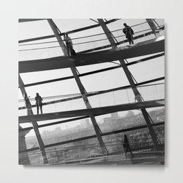 Bundestag [III] Metal Print