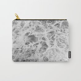 The Waves (Black and White) Carry-All Pouch