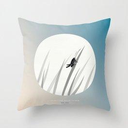 [10.18—10.22] Crickets Chirp Around the Door Throw Pillow
