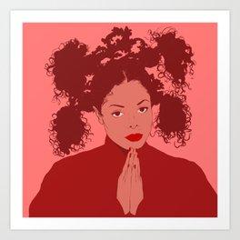 Miss Jackson Art Print