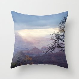 Breaking the Darkness Throw Pillow