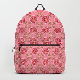 Boho Pink Pattern Backpack