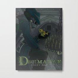 Decimation - Cover 1 Metal Print