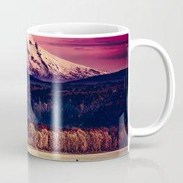Mt Hood on Columbia River Coffee Mug