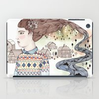 hindu iPad Cases featuring Cold Water by Brooke Weeber
