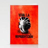 che Stationery Cards featuring CHE-HUGGER by BeastWreck