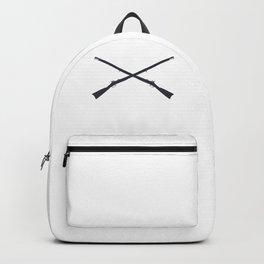 Muskets Crossed Backpack