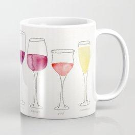 Wine Collection Coffee Mug