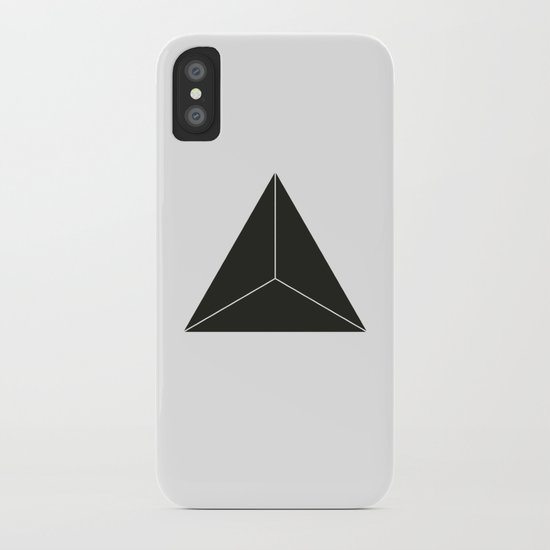 Triangle iPhone Case